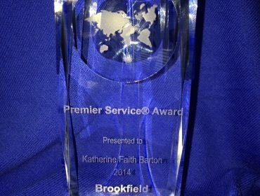 Premier Service Award 2014
